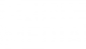 Brink Media advertising agency Logo white