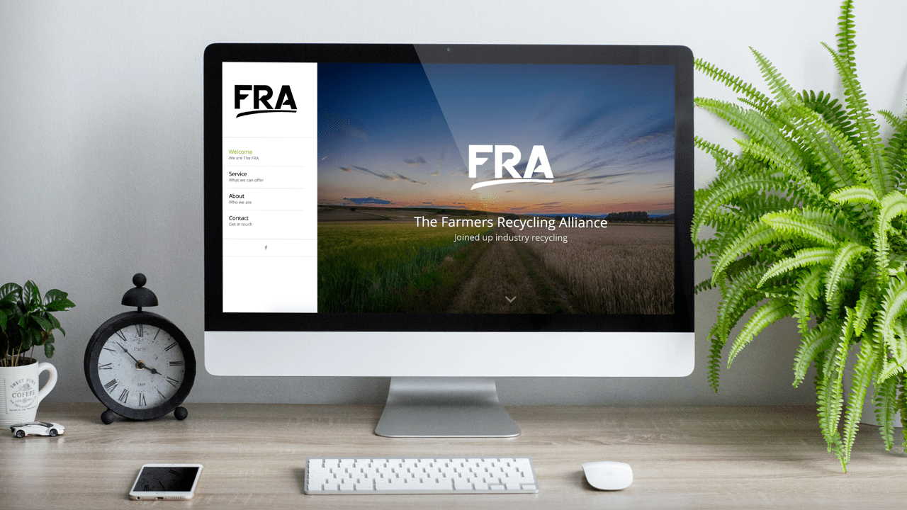 The FRA new website designed by Brink Media