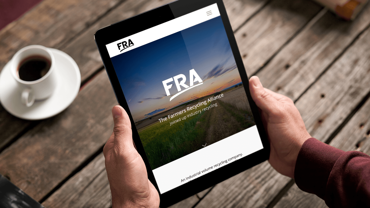 The FRA new web design by Brink Media